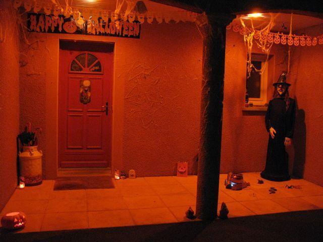 decoration halloween. Black Bedroom Furniture Sets. Home Design Ideas